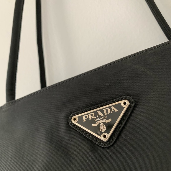 ac2064749c4b Prada Bags | Tessuto Nylon Classic Black Tote | Poshmark